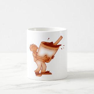 Soft drink basic white mug