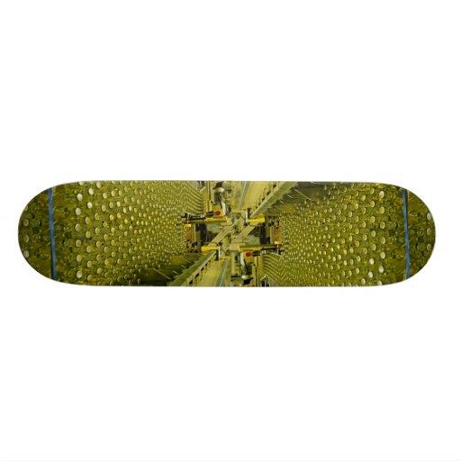 Soft drink factory skate board deck