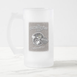 Soft Drinks Only Frosted Glass Beer Mug