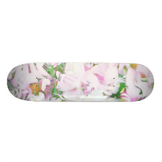 soft floral, spring (I) Custom Skate Board