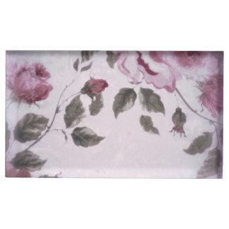 Soft Floral Table Card Holder