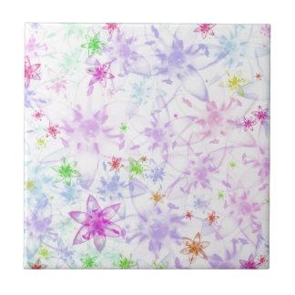 Soft Floral Tile