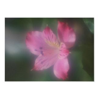 Soft Focus Lens  Flower Invitation 13 Cm X 18 Cm Invitation Card