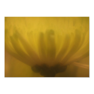 Soft Focus Lens Flower Invitation