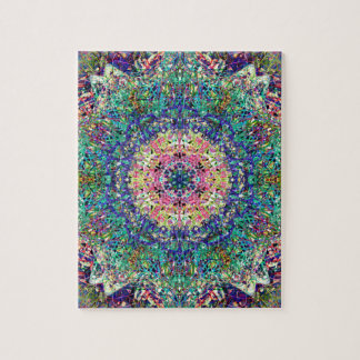 Soft Focus Wheel Of Many Colors Jigsaw Puzzle