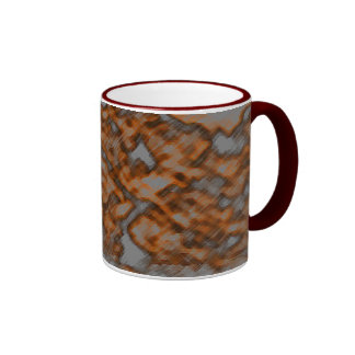 Soft Geometries In 'Pencil' Ringer Mug