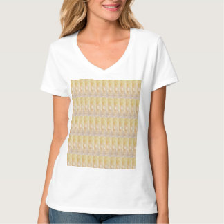 Soft Golden CRYSTAL pattern lowprice GIFTS NVN295 Tshirt