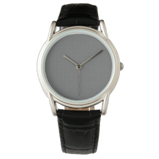 Soft Gray Background Pattern Men's Watch W05B