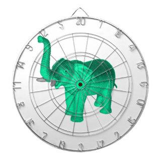 Soft Green Elephant Dart Boards