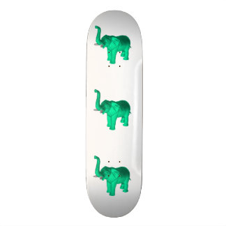 Soft Green Elephant Skate Boards