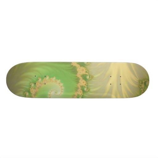 soft green skate boards