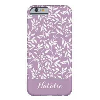Soft Ivy in Mauve iPhone Case