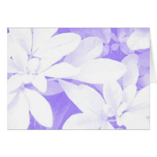 Soft Leaves Purple 'Happy Mother's Day' card