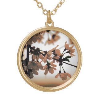 Soft Light Peach Necklace