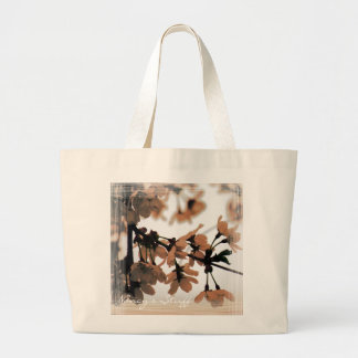 Soft Light Peach Personalized Jumbo Tote Bag