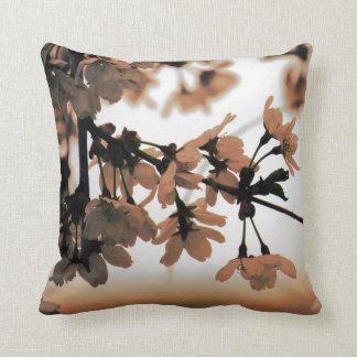 Soft Light Peach Throw Pillow Throw Cushions