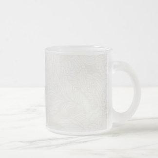soft lightly flower mug