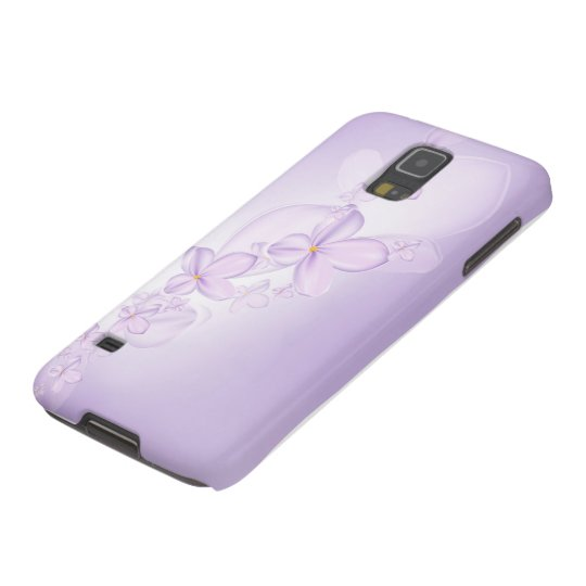Soft Lilac Flowers Samsung Galaxy S5 Case