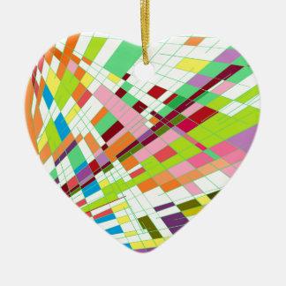 Soft Line Ceramic Heart Decoration