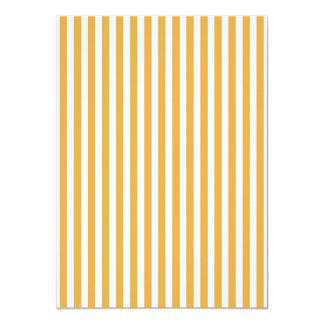 Soft Marigold Yellow Cabana Stripe 11 Cm X 16 Cm Invitation Card