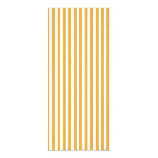 Soft Marigold Yellow Cabana Stripe Pattern 10 Cm X 24 Cm Invitation Card