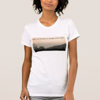 soft meadow, Relax  with the soft evening light... T-Shirt