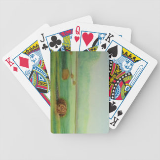 Soft Morning Light Bicycle Playing Cards