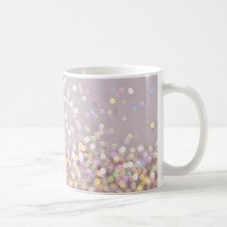 Soft Pastel Bokeh Sparkles Coffee Mug
