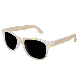 Soft Pastel Brushstroke Sunglasses