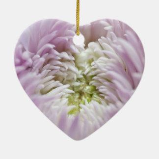 Soft Pastel Flower Ornaments