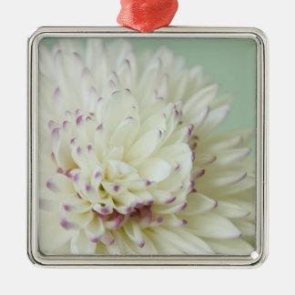 Soft Pastel Flower Photograph Ornament
