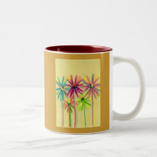Soft Pastel Flowers For You Coffee Mugs