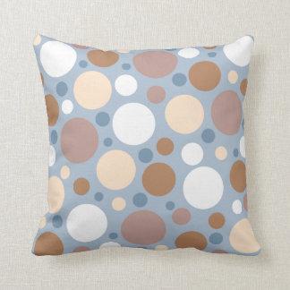 Soft Pastel Polka Dot Pillow