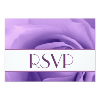 Soft Pastel Purple Rose Premium Wedding Collection 9 Cm X 13 Cm Invitation Card