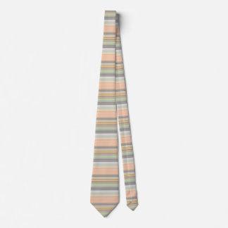 Soft Pastel Stripe Pattern Tie