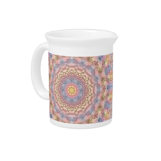 Soft Pastels Colourful Pitcher