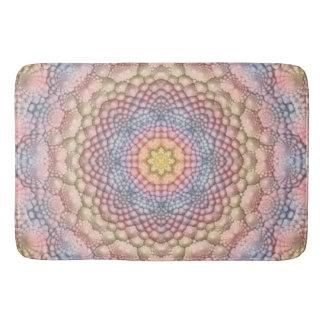 Soft Pastels  Kaleidoscope  Bath Mats