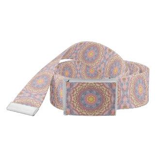 Soft Pastels Kaleidoscope Custom Belts