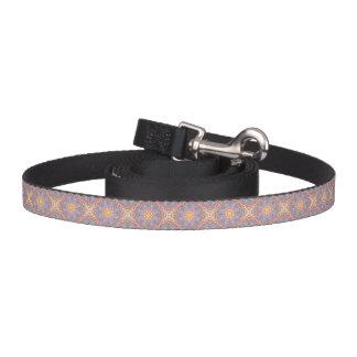 Soft Pastels Kaleidoscope  Dog Leash