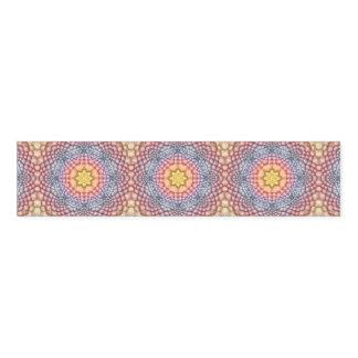 Soft Pastels  Kaleidoscope    Napkin Band