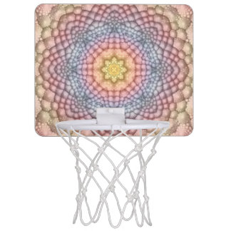 Soft Pastels Mini Basketball Hoops