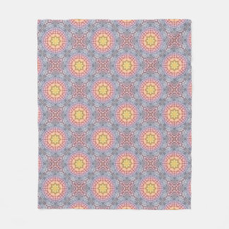 Soft Pastels  Two  Fleece Blankets, 3 sizes