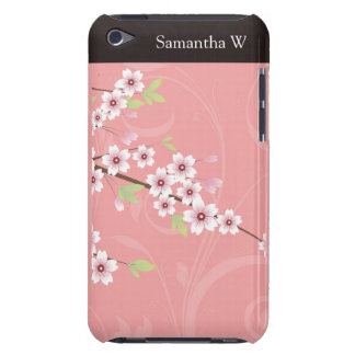 Soft Pink Cherry Blossom iPod Touch Covers
