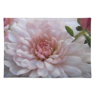 Soft Pink Chrysanthemum Place Mats