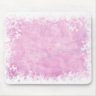 Soft Pink Floral mousepad
