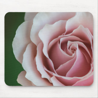 SOFT PINK ROSE by Michelle Diehl Mouse Pad