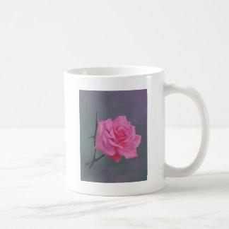 Soft Pink Rose Flower Coffee Mug
