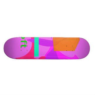 Soft Pink Skateboard