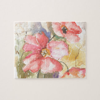 Soft Poppies I Jigsaw Puzzle