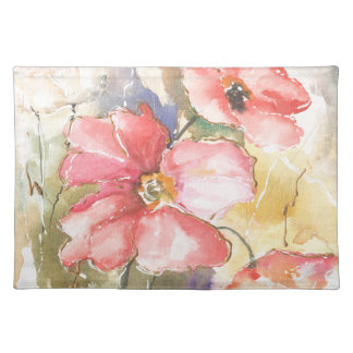 Soft Poppies I Placemat